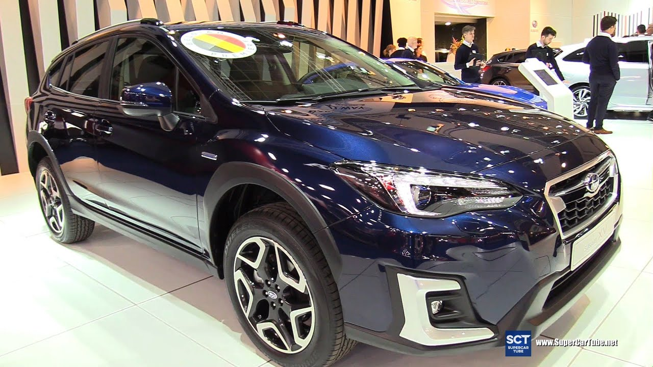 Chi tiết xe Subaru XV phiên bản eBoxer tại triển lãm xe hơi