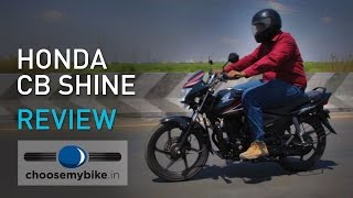 Honda CB Shine: ChooseMyBike.in Review