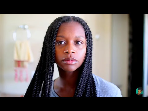 How To | Cleansing Your Senegalese Twists