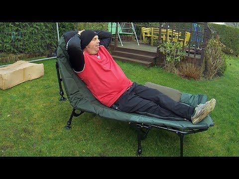 Cyprinus Wide Guy Xl 8 Leg Carp Bed Chair Review,  (camping)