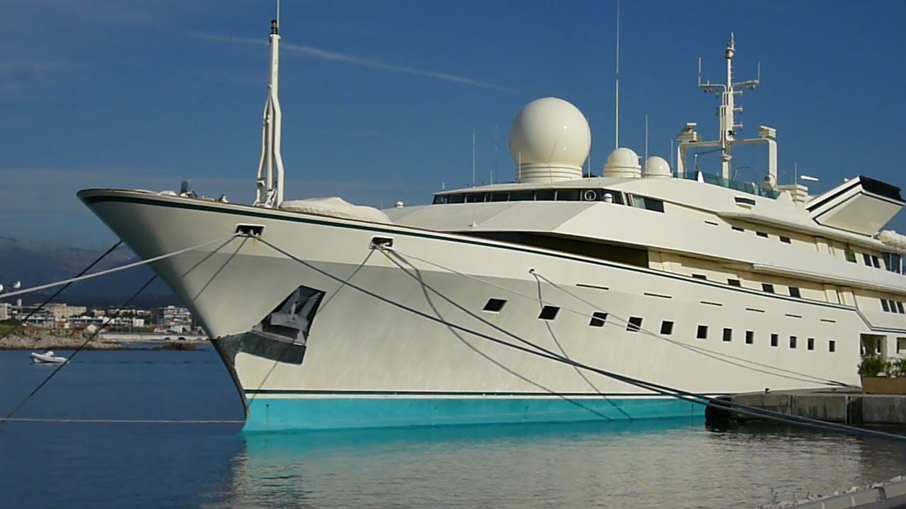 BIGGEST LARGEST Most EXPENSIVE MEGA YACHT Private In The Worldfrench Travel Trip