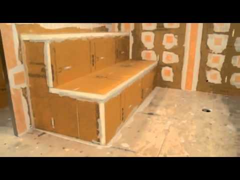 Kerdi shower systems steam room installation youtube for Build steam shower