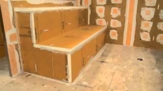 Kerdi Shower Systems - Steam Room Installation