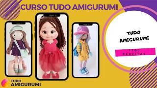 Amigurumi Receitas | Como Fazer Amigurumi De Crochê | Amigurumi Passo A Passo