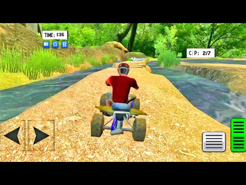 ATV Quad Bike Offroad Quad Bike Arizona Game | ATV Bike Racing | 3D Games - Android Gameplay #96