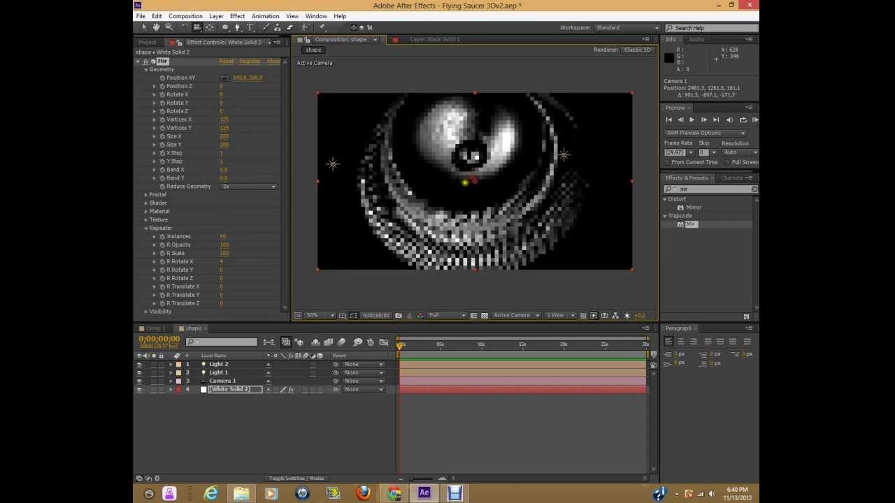 After effects cs6 trapcode mir tutorial 3d gears