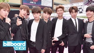 BTS to Perform on 'The Late Late Show With James Corden'   Billboard News