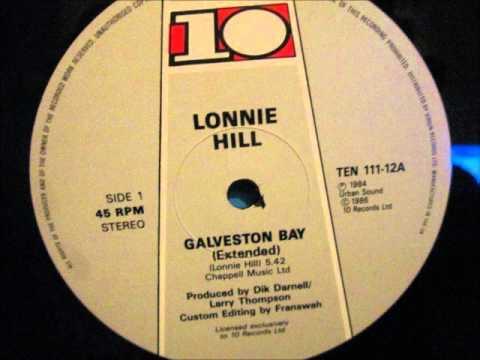 "Lonnie Hill - Galveston Bay. 1984 (12"" Soul/Rare Groove)"