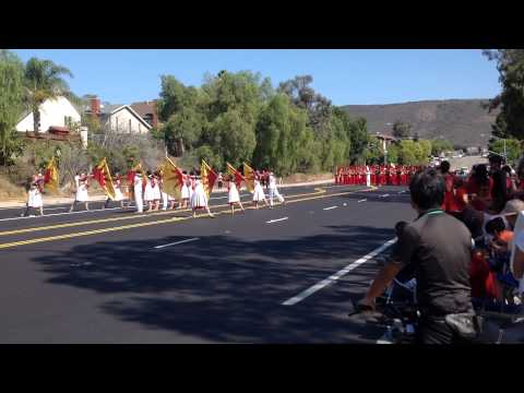 Mt Carmel High School Band plays The Loyal Legion 2014