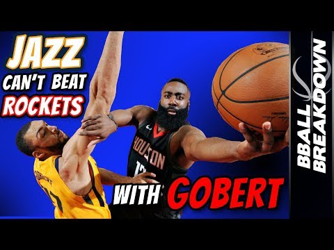 Why The JAZZ Can't Beat The ROCKETS With GOBERT