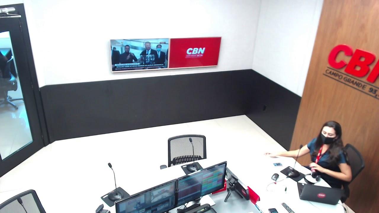 Programa CBN Campo Grande (31/03/2021): com Ingrid Rocha