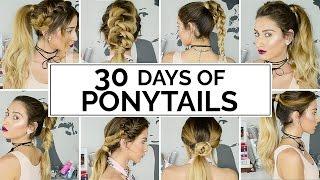 30 Days Of Ponytails! thumbnail