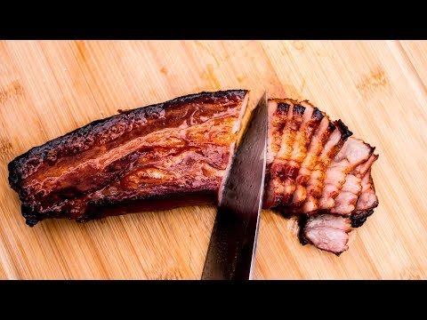 Pork Belly Recipe  - - Chinese Style Barbecue - -  Char Siu