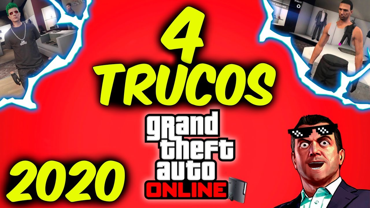 4 Trucos Gta 5 Online Ps3 Que Funcionan En 2020 Youtube