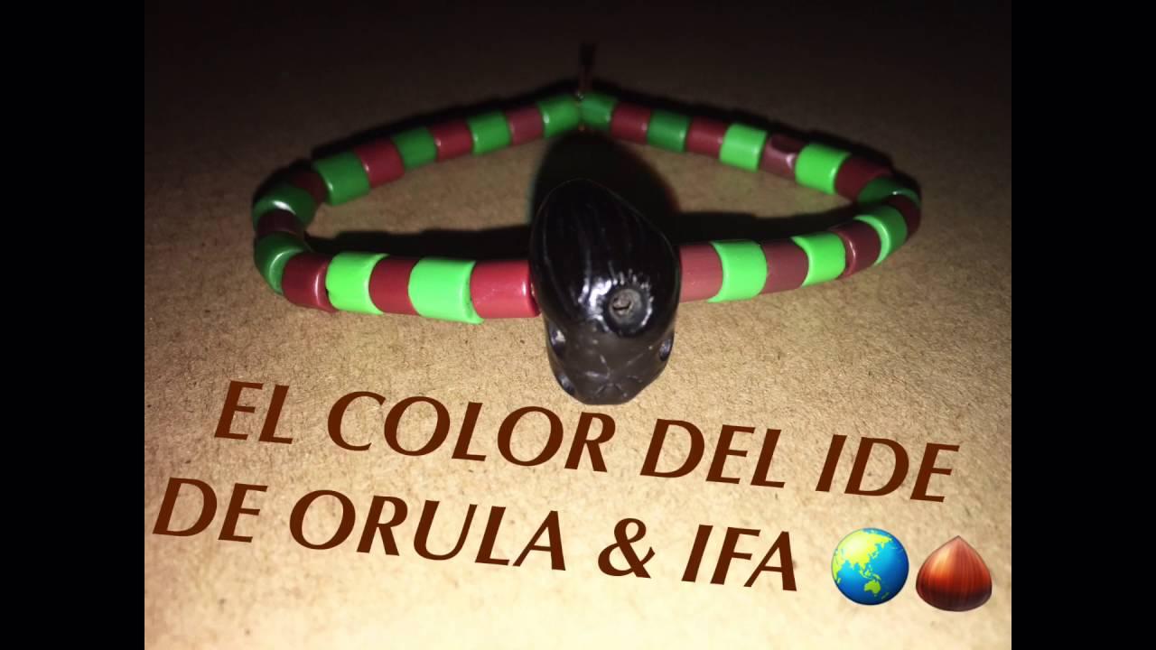 El Color Del Ide De Orula Ifa Youtube