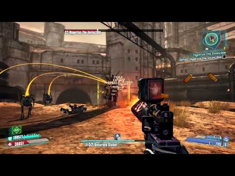 Hyperius the Invincible true vault hunter mode |