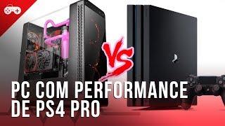 Montando um PC com o preço do PS4 Pro (se a mineração deixar)