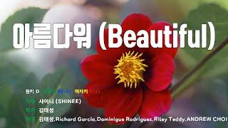[은성 반주기] 아름다워(Beautiful) - 샤이니(SHINEE)