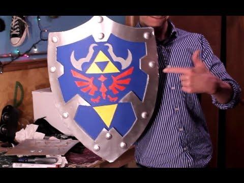 How to links hylian shield from zelda youtube how to links hylian shield from zelda solutioingenieria Gallery