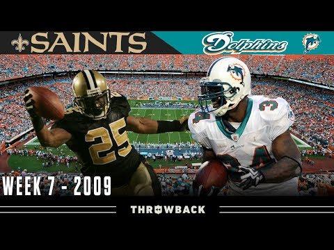 EPIC Scoring Marathon in Miami! (Saints vs. Dolphins, 2009)