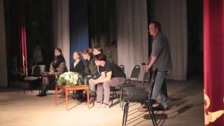 Фрагменты творческой встречи с создателями фильма «Тихий Дон» в станице Вёшенская
