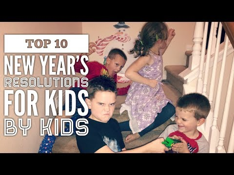 Healthy New Year's Resolutions for children