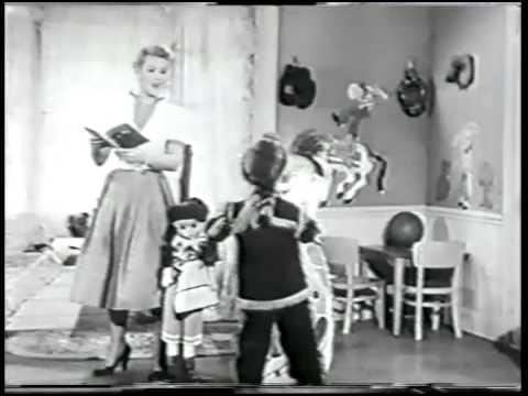 Patti Page, Ballad of Davy Crockett, 1955 Video