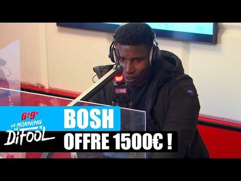 Youtube: Bosh offre 1500€ à une auditrice! #MorningDeDifool