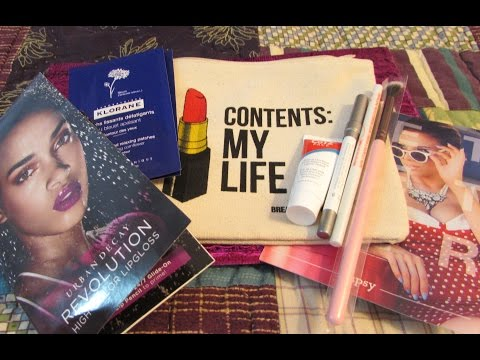 Unboxing ~ Ipsy May 2015 ~ Urban Decay, Chella, CoTZ, Klorane