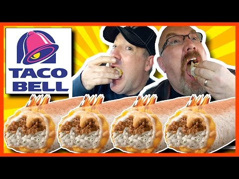 Taco Bell VOLCANO Quesarito Review with Special Guest Paul Merrimen