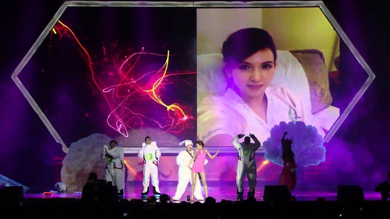 瀧澤蘿拉首次跳舞影片