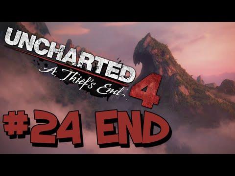 Uncharted 4 Walkthrough Part 24 HD - THE END (ENDING)
