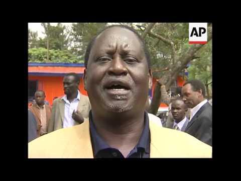 Opposition leader slams Kibaki