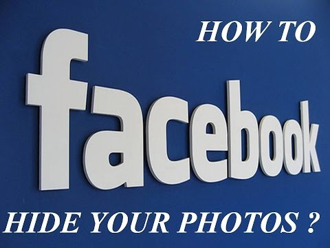 HOW TO HIDE PHOTOS FROM PUBLIC IN FACEBOOK ??????