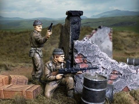 Plastic Commandos Episode 1 - Army Men Stop Motion