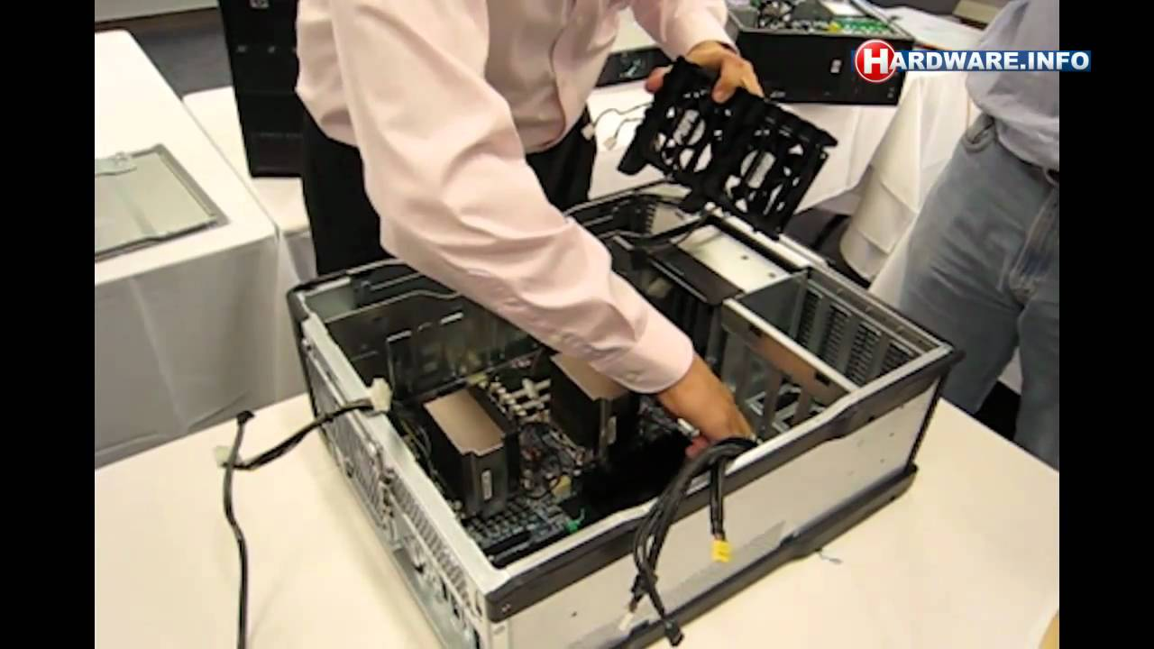 HP Z800 workstation disassembly