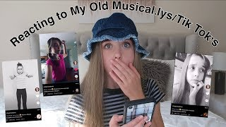 Reacting to my old musical.lys! *embarrassing*