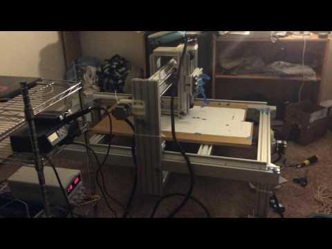 Large Format CNC Frame: Mechanical Design – Arachne Labs