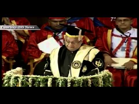 President Shri Pranab Mukherjee's address at the 45th annual convocation of IIT Kanpur