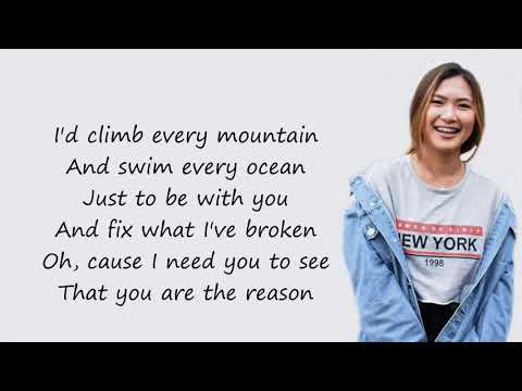 You Are The Reason - Ysabelle Cuevas And Wilbert Ross (cover)(Lyrics)