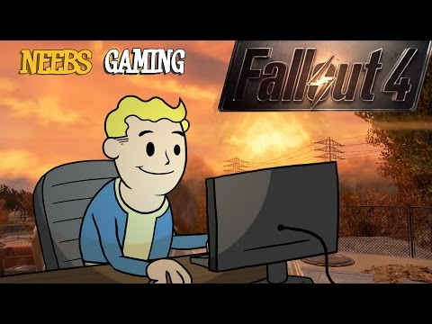 Fallout 4: GAMEPLAY+ANIMATION: Part 1 (1080p 60FPS PC)