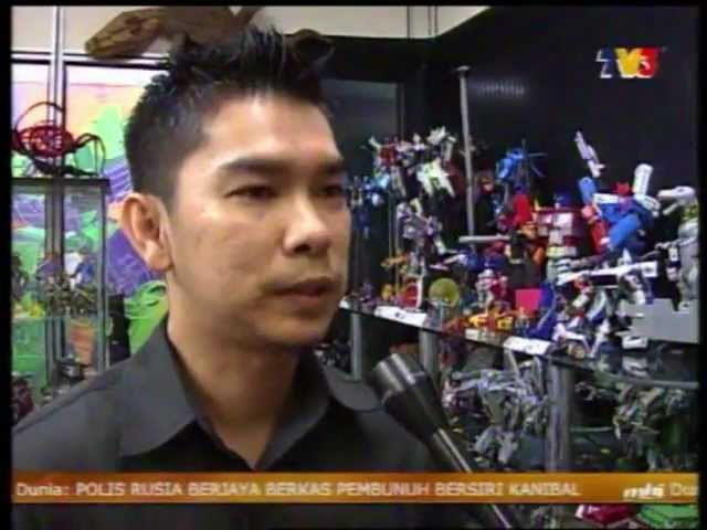 Wan de Real / De Real Transworks / Malaysian Customizer on TV3 MHI Travel Video
