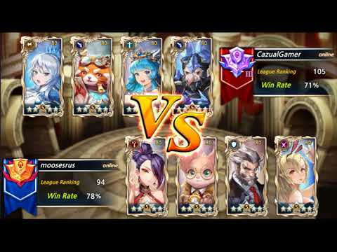 download [King's Raid] Arena, Oddy Joins team BlitZ