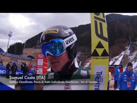 Samuel Costa (ITA) - Intervista Individual Gundersen - Val di Fiemme