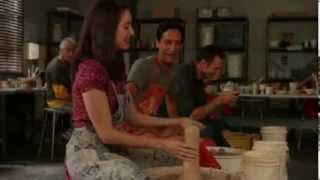 Hot Alison Brie pottery bloopers