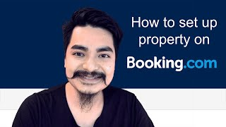 How to set up property on Booking.com screenshot 1
