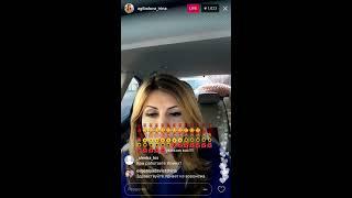 Ирина Агибалова в прямом эфире Instagram 31.03.2017