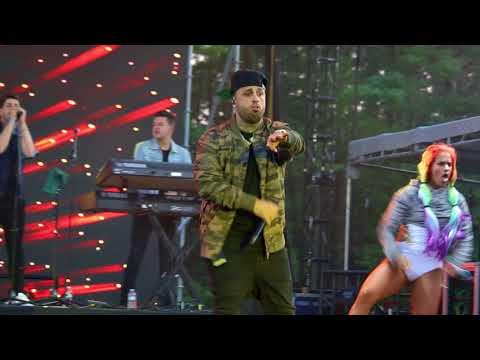 Nicki Jam live @ Los Dells Festival - 2017 - Wisconsin Dells