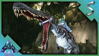 MAX LEVEL BARYONYX TAMING & AN INCREDIBLE DISASTER! - Ark: Aberration [DLC Gameplay E44]