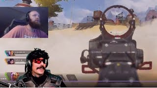 DrDisrespect Reacts to LyndonFPS INSANE Gameplay on Apex Legends!